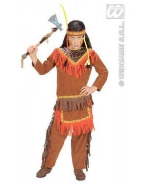 Costume Indiano 8/10 140 Cm Casacca Pantaloni