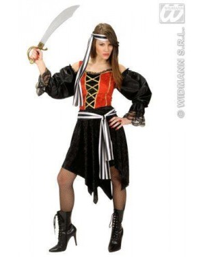 Costume Bucaniera Piratessa M In Velluto