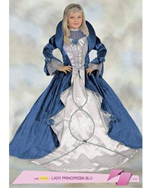 Costume Lady Principessa Blu 4/6