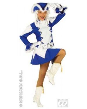 Costume Majorette M Giacca,Gonna,Cappello 2 Col