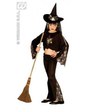 WIDMANN 3343W costume strega sparkling witch 5/7 8/10 11/13