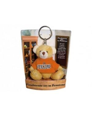 CARTAL   orsetto portachiavi teddy in pensione