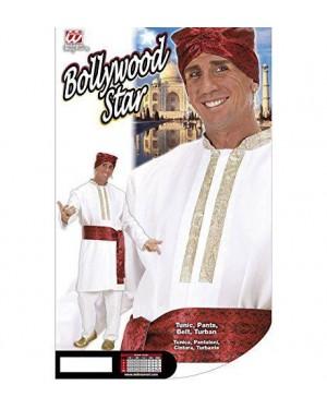 Costume Bollywood Star L Tunica,Pantaloni,Cintura