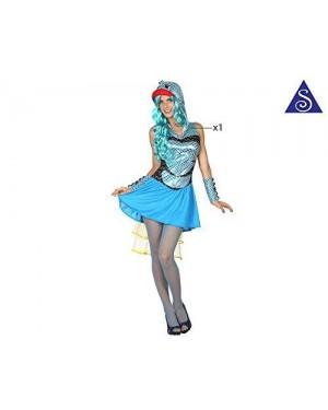 Costume Pesce Donna T-1 Xs-S