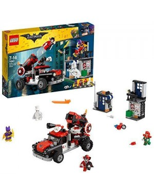 LEGO 70921 lego batman movie attacco con il cannone di harley