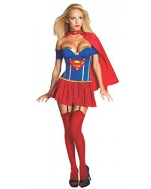RUBIES 889898-M RUBIES COST SUPERGIRL M CORSETTO DELUXE