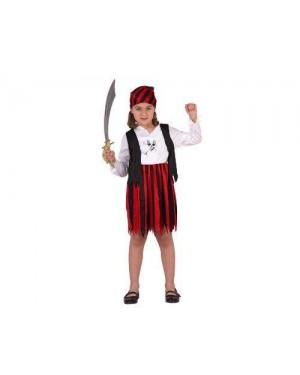 ATOSA 70106.0 costume pirata rosso 7-9