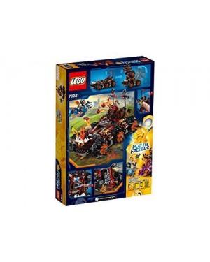 LEGO 70321 lego nexo knights la macchina d'assedio del genera