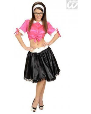 Costume Twist Girl M Tie Top Gonna