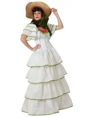 ATOSA 15609 costume dama del sud, adulto t2 m\l
