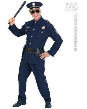 Costume Poliziotto L Casacca,Pantaloni,Cintura,