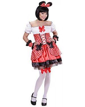 WIDMANN 05431 costume minnie rossa s topolina