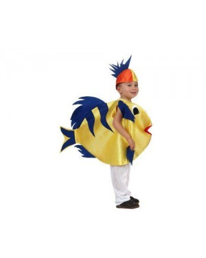 Costume Pesce 5/6 Anni