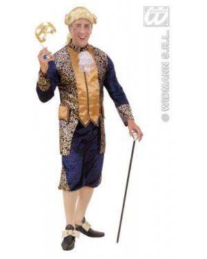 WIDMANN 71911 costume marchese blu s in velluto e raso ves