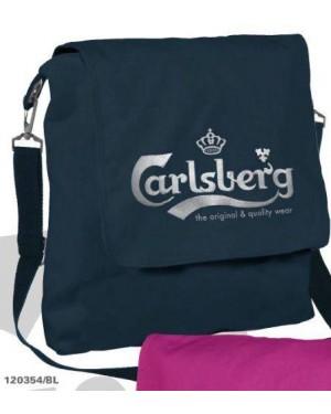 accademia 120354 borsa tracolla carlsberg nero