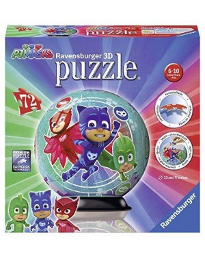 RAVENSBURGER 117970 puzzle 3d sfera pj maks 108pz