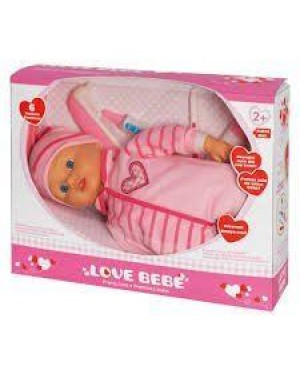 giocheria rdf50333 love bebe - set dottore cm.33