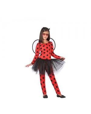 ATOSA 56982 costume coccinella 10-12