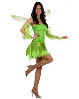 Costume Fata Autunno Verde T-3