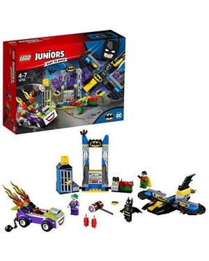 LEGO 10753 lego juniors dc joker: attacco bat-caverna