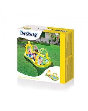 bestway 53030 piscina parco giochi cm 290x170x137