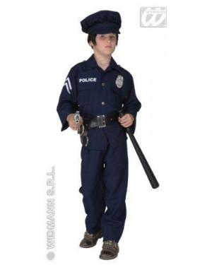 Costume Poliziotto 11/13 Cm 158 C/Cappello