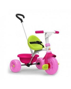 GIOCHERIA RDF51692 baby smile - triky go rosa triciclo con manico