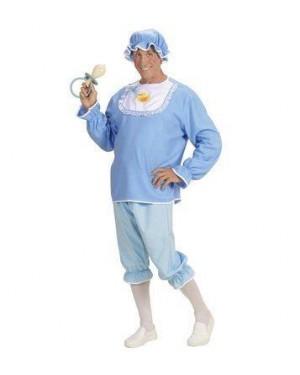 WIDMANN 98752 costume bebe m uomo vestito c/bavaglino