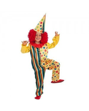 CARNIVAL TOYS 66018 costume clown bambino iv-v