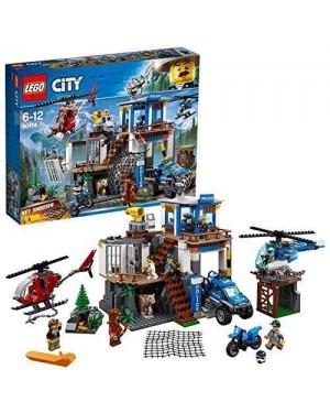LEGO 60174 lego city police polizia montagna quartier gener