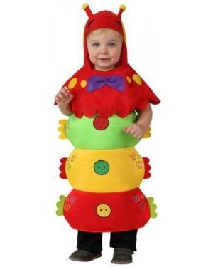 Costume Bruco Bebe 1/2 Anni