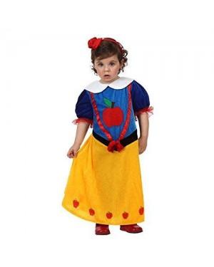 Costume Principessa Neve Bebe 12-24M