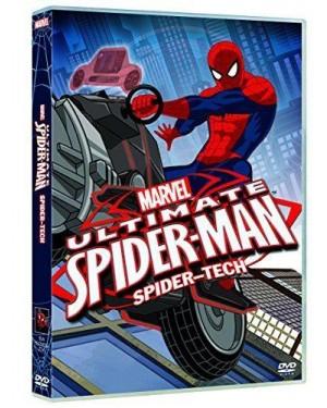 DISNEY  dvd spiderman - spider-tech