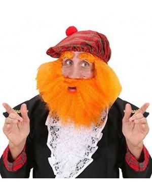 WIDMANN S6414 parrucca scozzese rossa +cappello barba sopracc
