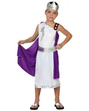 Costume Romano Tg 4 10/12 Anni