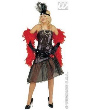 Costume Tiffany Anni 30 M Vestito In Paillettes