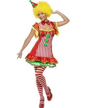 Costume Clown Donna Boo Boo L Abito Con Il Cap