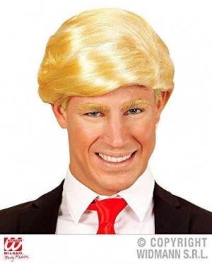 WIDMANN 02097 parrucca bionda trump presidente america
