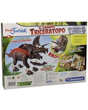 CLEMENTONI 13939 focus j -il grande triceratopo (it)