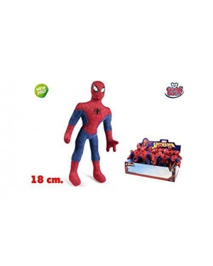 GRANDI GIOCHI GG01270 peluche spiderman 18 cm