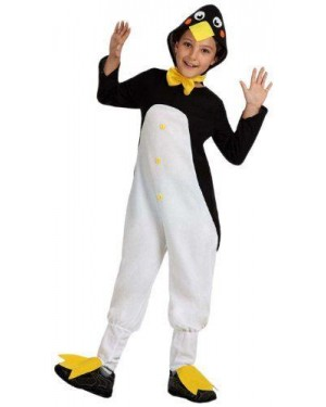 Costume Pinguino 7/9 Anni Flanella