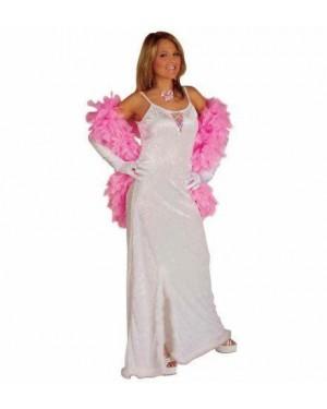 Costume Jade Ricamato M Con Piume