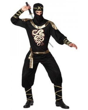 ATOSA 15291 costume ninja, adulto t3 xl