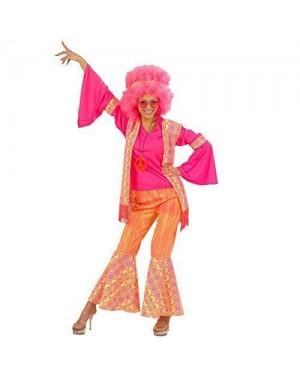 WIDMANN 5709W costume hippie xl donna in tessuto di qualita