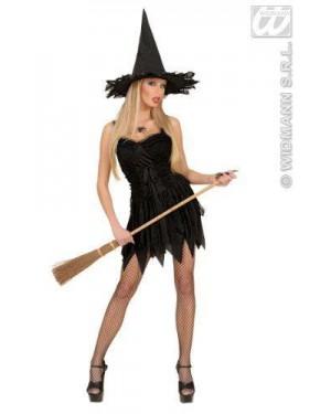 WIDMANN 76993 costume strega con cappello l