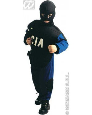 Costume Special Police (140 Cm)(Giubbotto Antipr