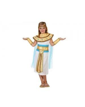 ATOSA 23311 costume egiziana, bambina t3 7-9 anni
