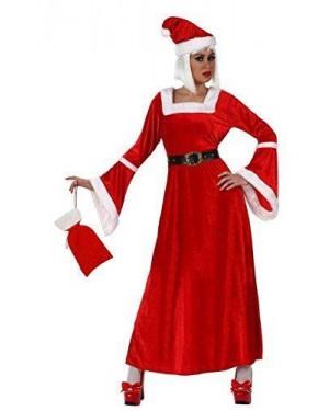 Costume Mamma Natale T.2 M/L