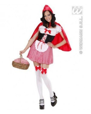 Costume Cappuccetto Rosso Xl Mantellino Rosso