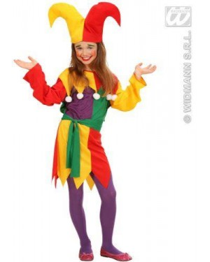 Costume Jolly Jester 140Cm 8/10
